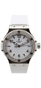 Steel White Diamonds 38mm