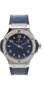 Steel Blue Diamonds 38mm