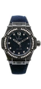 "Italia Independent ""Dark Blue Velvet"" 39mm L.E."